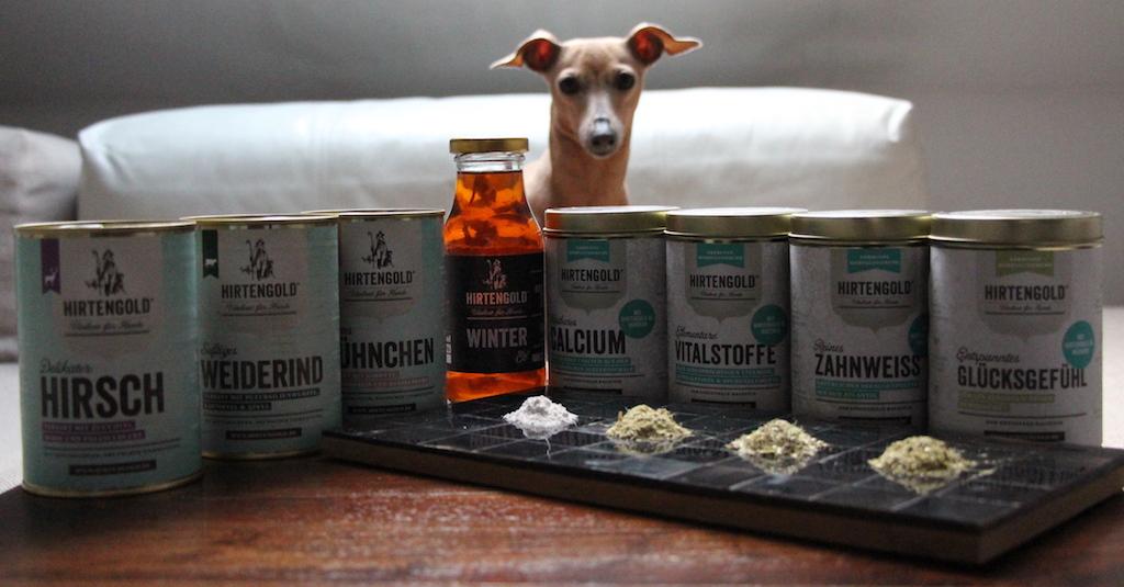 Hundefutter Nahrungsergänzung Vitalkost Hirtengold Hundbelog miDoggy