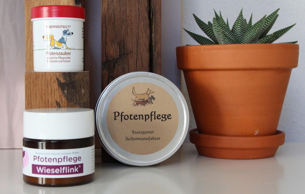 Pfotenpflege Test Stuttgarter Seifenmanufaktur Hund & Herrchen feeprotect Hundbelog miDoggy