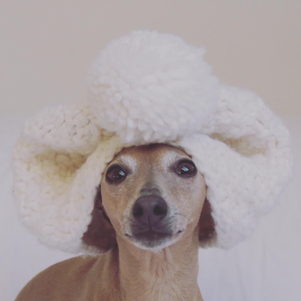 Montag: keep calm and wear a pom-pom hat!