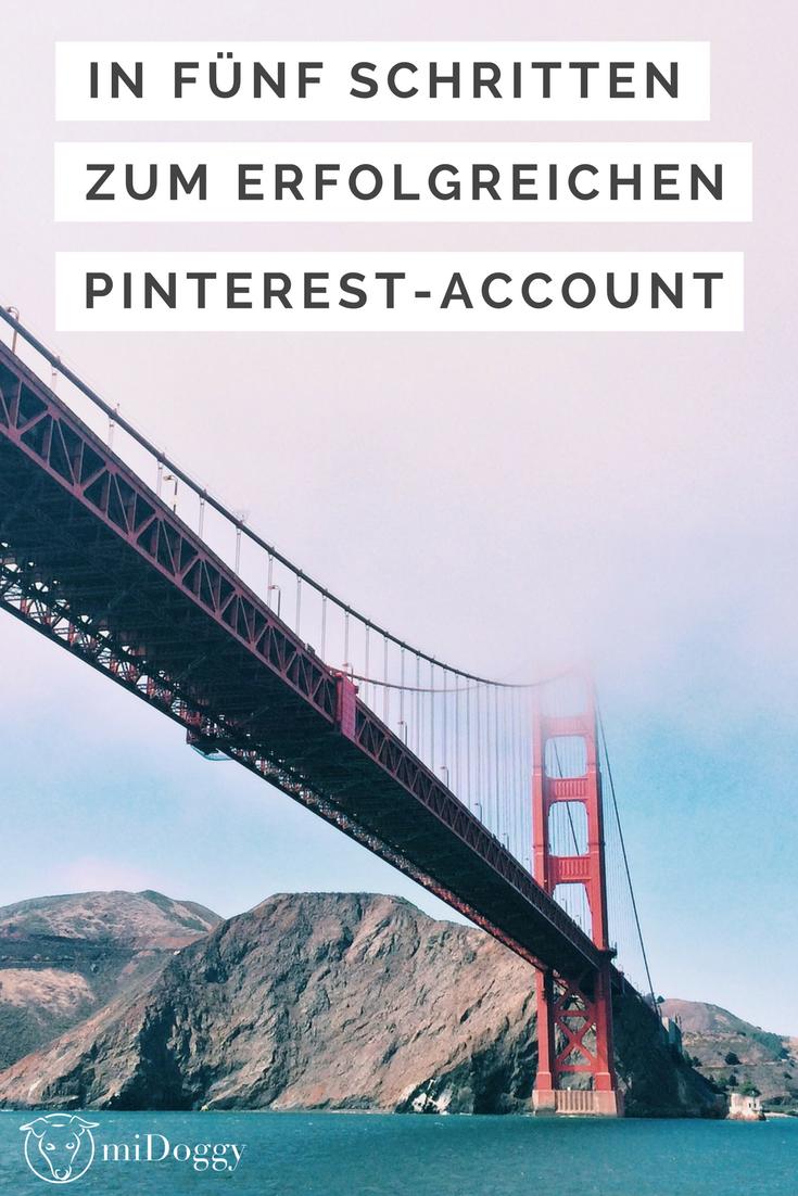 In fünf Schritten zum professionellen Pinterest Account