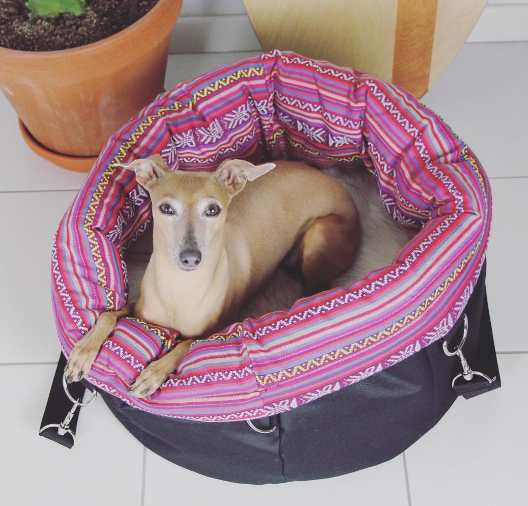 Hundetasche kuschelig praktisch Isarhund Tasche für Hunde 3688